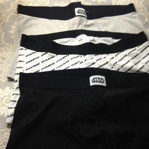H&M Bundle 3 Star Wars Men's Unused Underwear, XL